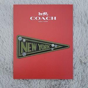 Coach Classic New York Flag Sticker